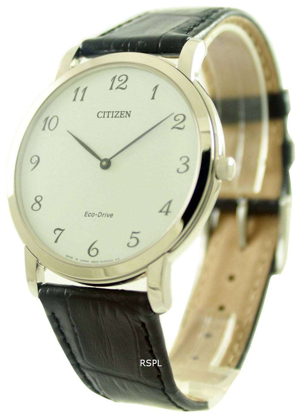 a5b3b3f7f4c Citizen Eco-Drive Stilleto Super Thin AR1110-11B Mens Watch 1 ...