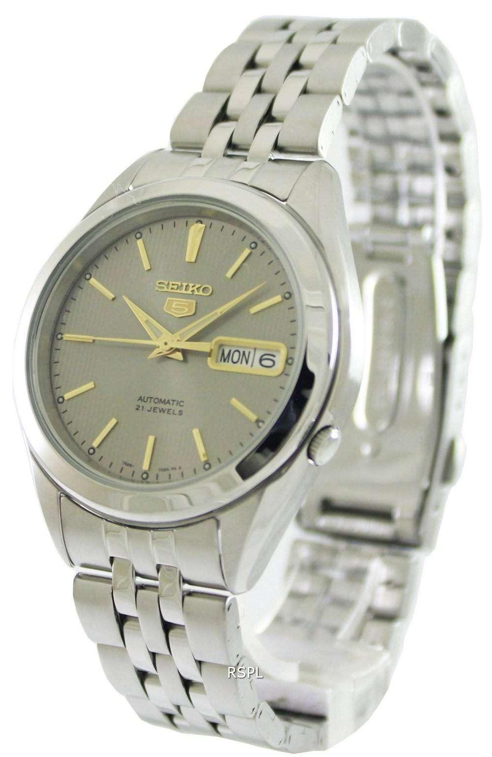dba89aeaf72 Seiko 5 Automatic 21 Jewels SNKL19K1 SNKL19K Mens Watch -