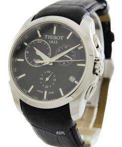 Tissot Couturier Quartz GMT T035.439.16.051.00 Mens Watch