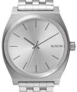 Nixon Time Teller All Silver A045-1920-00 Mens Watch