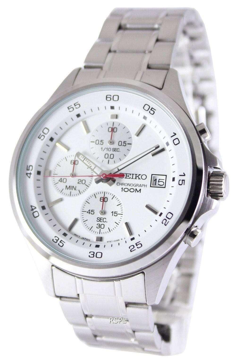 4b3ef8a24 Seiko Chronograph Quartz 100M SKS473P1 SKS473P Mens Watch ...