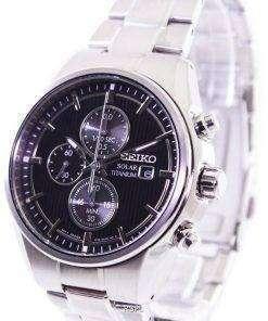 Seiko Solar Titanium Chronograph SSC367P1 SSC367P Mens Watch