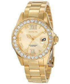 Invicta Pro Diver Crystal Accented Quartz 200M 15252 Womens Watch