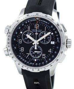 Hamilton Khaki Aviation X-Wind Chronograph Quartz GMT H77912335 Men's Watch