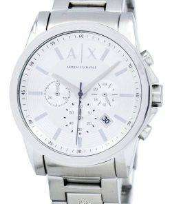Armani Exchange Chronograph Silver-Tone Dial AX2058 Mens Watch