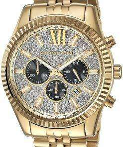 Michael Kors Lexington Chronograph Quartz Crystal Accent MK8494 Men's Watch