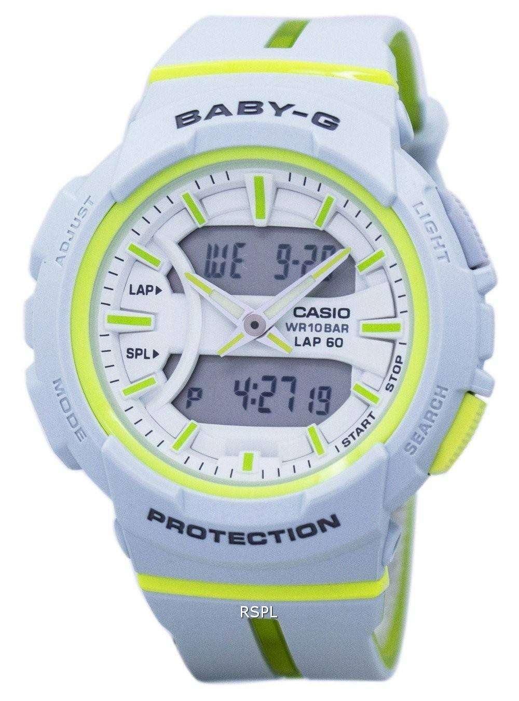 b972ae58e Casio Baby-G Shock Resistant Dual Time Analog Digital BGA-240L-7A Women's