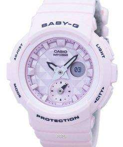 Casio Baby-G Shock Resistant World Time Analog Digital BGA-190BE-4A Women's Watch