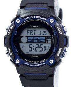 Casio Tough Solar Illuminator Tide Graph Moon Phase Digital W-S210H-1AV Men's Watch