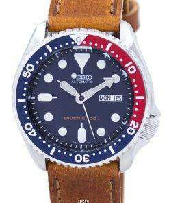 Seiko Automatic Diver's 200M Ratio Brown Leather SKX009K1-LS9 Men's Watch
