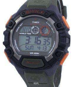 Timex Expedition Shock World Time Indiglo Digital T49972 Men's Watch