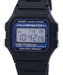 Casio Digital Quartz Alarm Chrono Illuminator F-105W-1ADF F-105W-1 Mens Watch