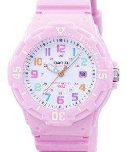 Casio Pink Resin Strap LRW-200H-4B2VDF LRW-200H-4B2V Womens Watch