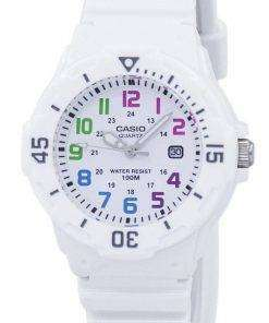 Casio Enticer Analog White Dial LRW-200H-7BVDF LRW-200H-7BV Womens Watch