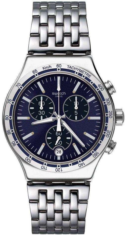 Swatch Irony Dress My Wrist Chronograph Tachymeter YVS445G Men's Watch