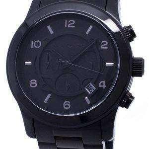 26150ed77255 Michael Kors Blacked Out Runway Chronograph MK8157 Mens Watch ...
