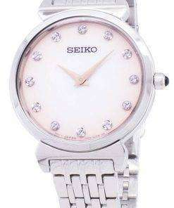 Seiko Quartz SFQ803 SFQ803P1 SFQ803P Diamond Accents Women's Watch