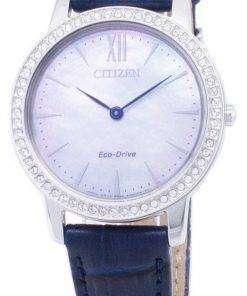 Citizen Eco-Drive EX1480-15D Diamond Accents Analog Women's Watch