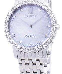 Citizen Eco-Drive EX1480-82D Diamond Accents Analog Women's  Watch