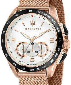 Maserati Traguardo R8873612011 Chronograph Tachymeter Quartz Men's Watch
