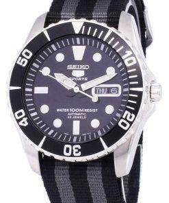 Seiko 5 Sports Automatic NATO Strap SNZF17K1-NATO1 Men's Watch