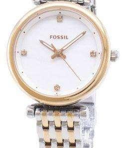 Fossil Carlie ES4431 Quartz Analog Women's Watch