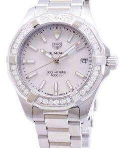 Tag Heuer Aquaracer WBD1313.BA0740 Diamond Accents Quartz 300M Women's Watch