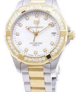 Tag Heuer Aquaracer WBD1323.BB0320 Diamond Accents Quartz 300M Women's Watch