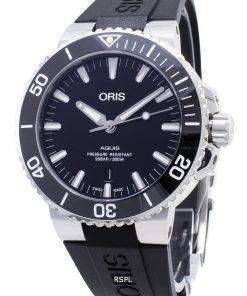 Oris Aquis Date 01 733 7730 4134-07 4 24 64EB 01-733-7730-4134-07-4-24-64EB Automatic 300M Men's Watch