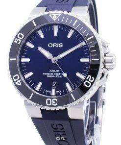 Oris Aquis Date 01 733 7730 4135-07 4 24 65EB 01-733-7730-4135-07-4-24-65EB Automatic 300M Men's Watch