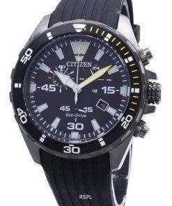 Citizen Eco-Drive AT2437-13E Chronograph Analog Men's Watch