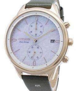 Citizen Chandler FB2008-01D Chronograph Women's Watch