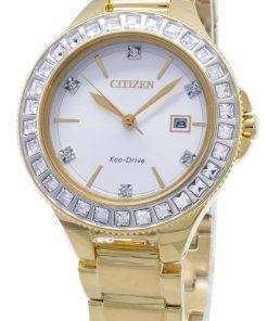 Citizen Silhouette Eco-Drive FE1192-58A Swarovski Crystal Women's Watch