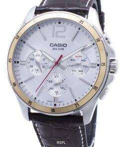 Casio Enticer MTP-1374L-7AV MTP1374L-7AV Chronograph Analog Men's Watch