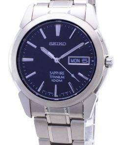 Seiko Titanium Sapphire SGG729P1 SGG729P Mens Watch