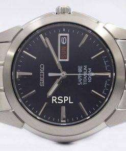 sports shoes dbfe6 9180b Seiko Titanium Sapphire SGG729P1 SGG729P Mens Watch