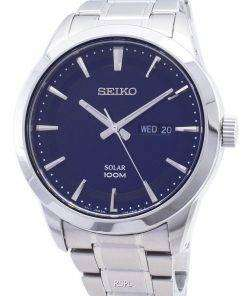 Seiko Solar Powered 100M SNE361P1 SNE361P SNE361 Mens Watch