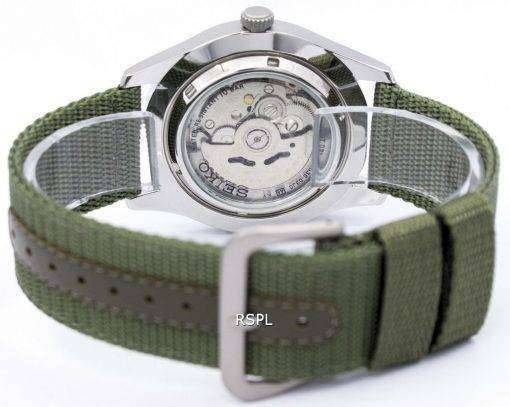 Seiko 5 Military Automatic Sports SNZG09K1 SNZG09 SNZG09K Mens Watch