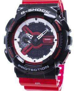 Casio G-Shock GA-110RB-1A GA110RB-1A Shock Resistant Quartz 200M Men's Watch