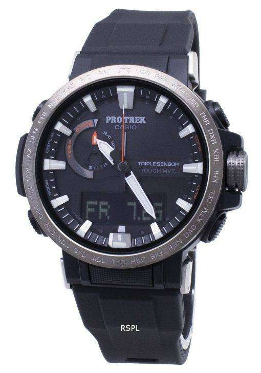 Casio Pro Trek PRW-60Y-1A PRW60Y-1A Digital Compass Solar Men's Watch