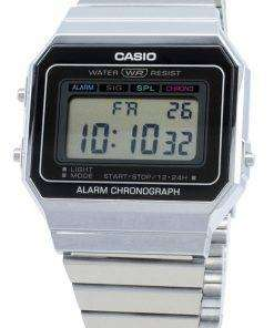 Casio Youth Digital A700W-1A A700W-1 Alarm Quartz Men's Watch