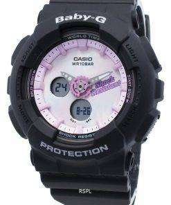 Casio Baby-G Analog Digital BA-120T-1A BA120T-1A World Time Quartz Women's Watch