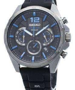 Seiko Chronograph SSB353 SSB353P1 SSB353P Tachymeter Quartz Men's Watch