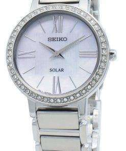 Seiko Solar SUP431 SUP431P1 SUP431P Diamond Accents Women's Watch