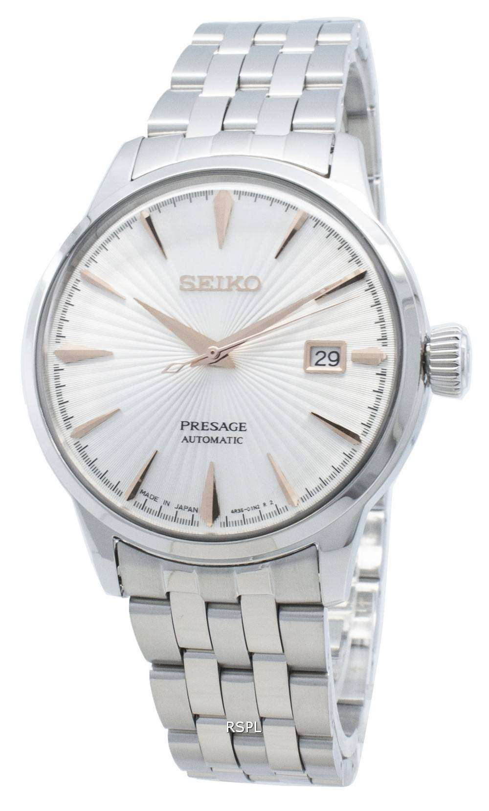 Seiko Presage SARY13 SARY137 SARY1 23 Jewels Automatic Made In Japan Men's Watch