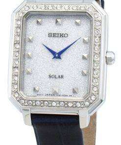 Seiko Conceptual SUP429P SUP429P1 SUP429 Diamond Accents Solar Women's Watch
