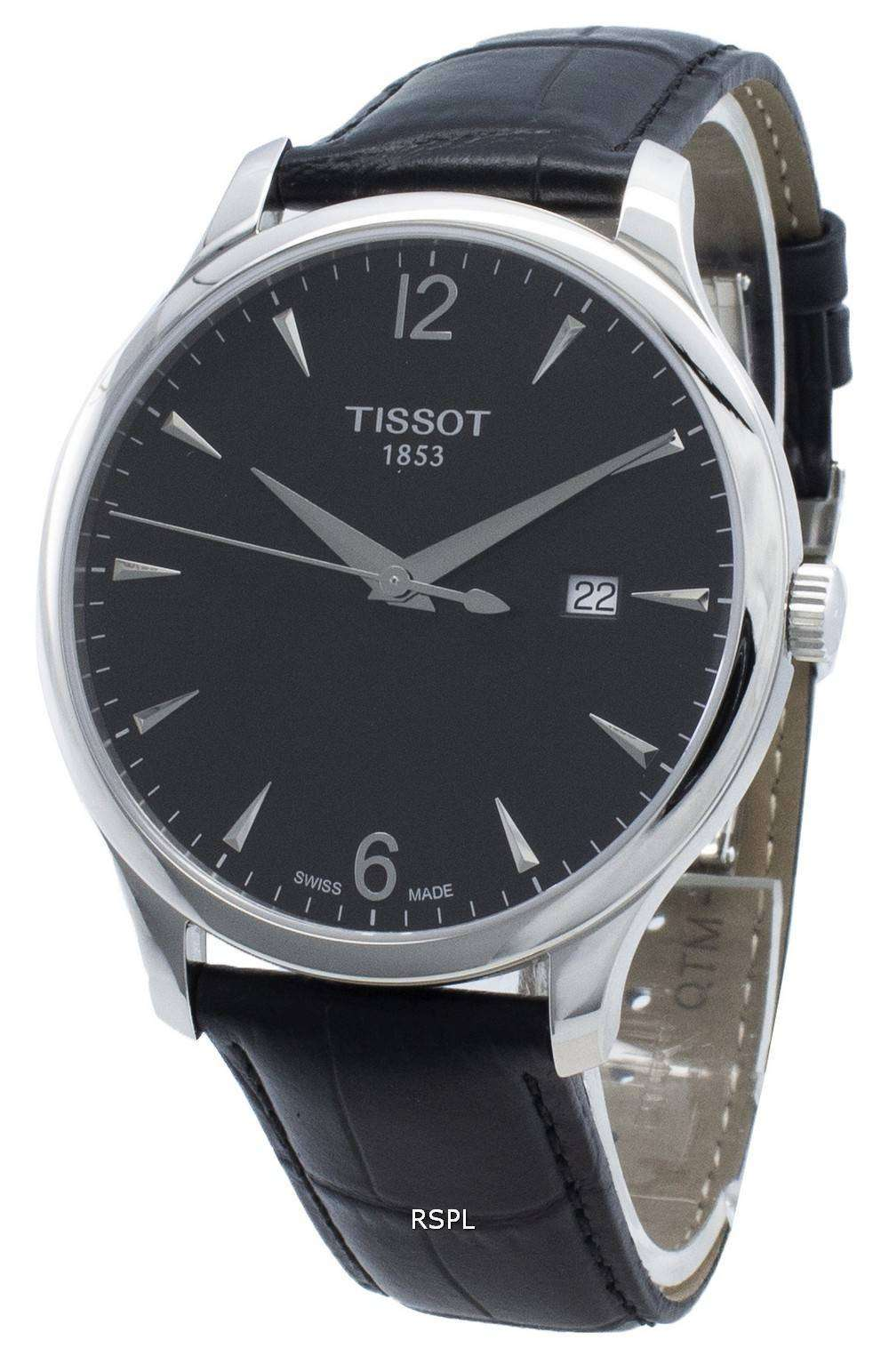 Tissot T-Classic Tradition T063.610.16.057.00 T0636101605700 Quartz Men's Watch