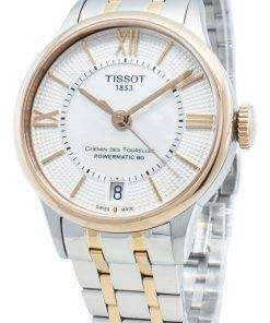Tissot Chemin Des Tourelles T099.207.22.118.02 T0992072211802 23 Jewels Automatic Women's Watch
