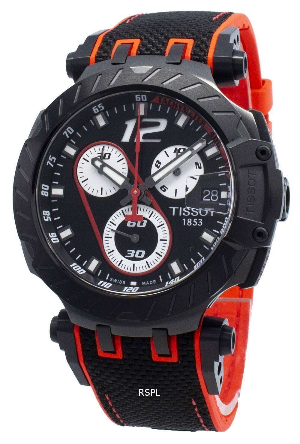 Tissot T-Race MotoGP T115.417.37.057.01 T1154173705701 Tachymeter Quartz Men's Watch