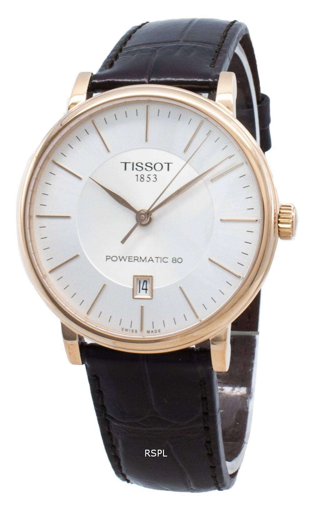 Tissot T-Classic Carson T122.407.36.031.00 T1224073603100 Automatic Men's Watch